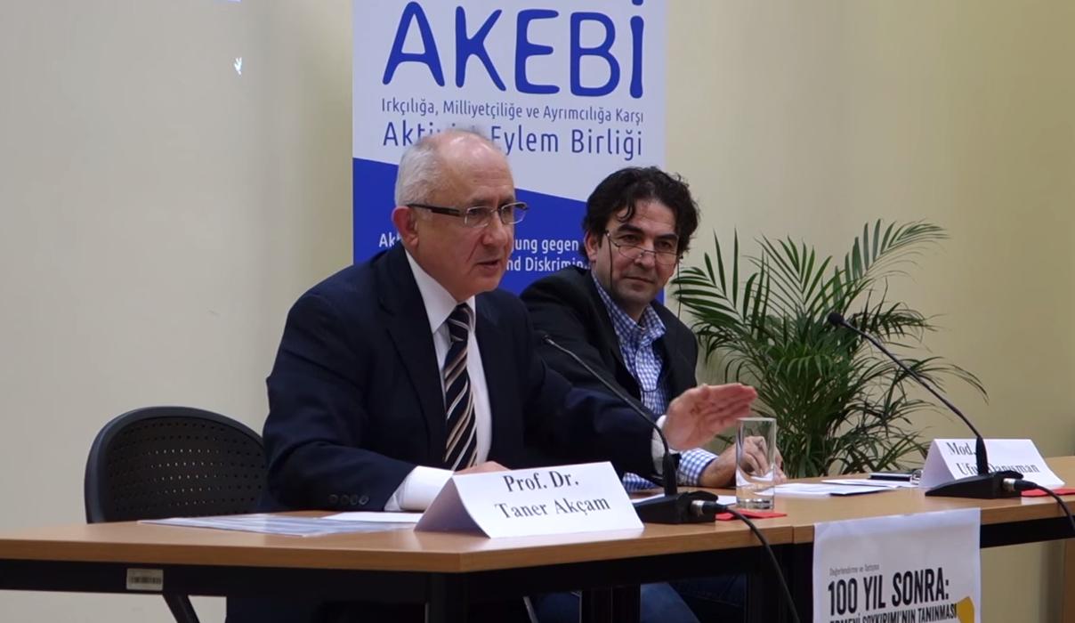 AKEBI - Taner Akçam in Berlin